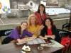 Abigail Rappaport, Mabel Ugarte, Adriana y Stela